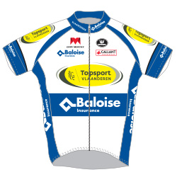 Topsport Vlaanderen - Baloise 2016 shirt