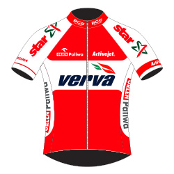 Verva Activejet Pro Cycling Team 2016 shirt