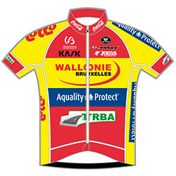 Wallonie Bruxelles - Group Protect 2016 shirt