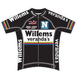 Veranda's Willems Cycling Team 2016 shirt