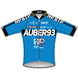 HP - BTP Auber 93 2016 shirt