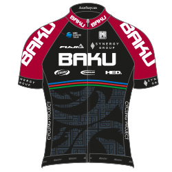 Synergy Baku Cycling Project 2016 shirt