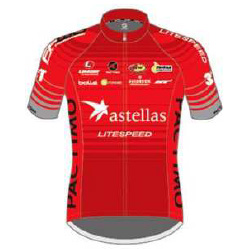 Astellas Cycling Team 2016 shirt