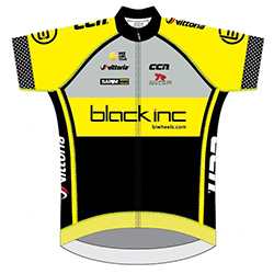 Black Inc Cycling Team 2016 shirt
