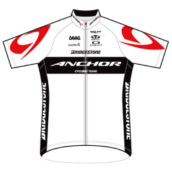 Bridgestone Anchor Cycling Team 2016 shirt