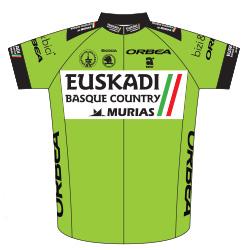 Euskadi Basque Country - Murias 2016 shirt