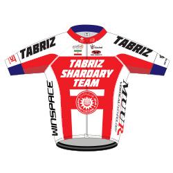 Tabriz Shahrdary Team 2016 shirt