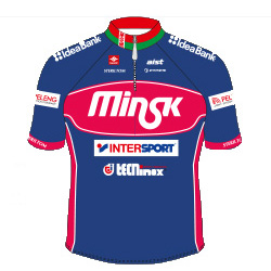 Minsk Cycling Club 2016 shirt