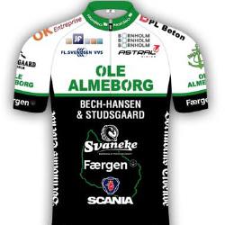 Team Almeborg - Bornholm 2016 shirt