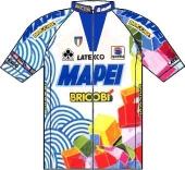 Mapei - Bricobi 1998 shirt