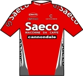 Saeco - Cannondale 1998 shirt