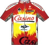 Casino - Ag2r 1998 shirt