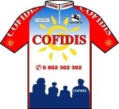 Cofidis 1998 shirt