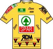 Spar - RDM - Daewoo 1998 shirt