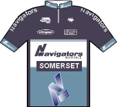 Navigators Cycling Team 1998 shirt