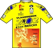 Vlaanderen 2002 - Eddy Merckx 1998 shirt