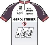 Team Gerolsteiner 1998 shirt