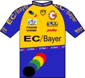 Team EC - Bayer Worringen 1998 shirt