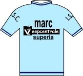 Marc Zeepcentrale - Superia - I.S.C. 1978 shirt