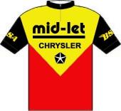 Mid Let Sports - Chrysler - B.S.A. 1978 shirt