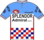 Splendor - Admiral 1980 shirt