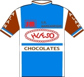 Hueso Chocolates - Peña Hermanos Manzaneque 1981 shirt