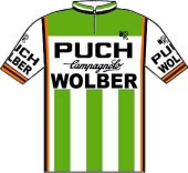 Puch - Wolber - Campagnolo 1981 shirt