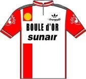 Boule d'Or - Sunair 1981 shirt