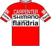Flandria - Carpenter - Shimano 1973 shirt