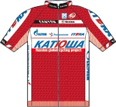 Katusha Team 2012 shirt