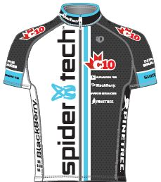 Spidertech Powered by C10 2012 shirt