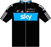 Sky Procycling 2012 shirt