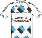 Ag2r La Mondiale 2012 shirt