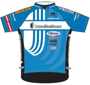 UnitedHealthcare Pro Cycling Team 2012 shirt