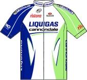Liquigas - Cannondale 2012 shirt