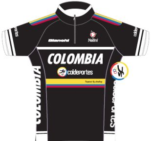 Colombia - Coldeportes 2012 shirt