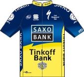 Team Saxo Bank - Tinkoff Bank 2012 shirt