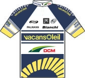 Vacansoleil - DCM Pro Cycling Team 2012 shirt