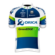 Orica GreenEdge 2012 shirt