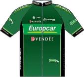 Team Europcar 2012 shirt