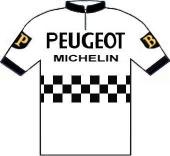 Peugeot - BP - Michelin 1966 shirt
