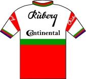 Rüberg - Continental 1966 shirt