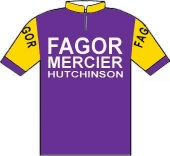 Fagor - Mercier - Hutchinson 1971 shirt