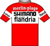 Merlin Plage - Shimano - Flandria 1974 shirt