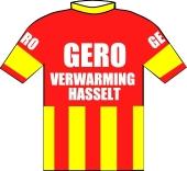 Gero - Verwarming - Hasselt 1974 shirt