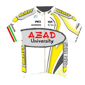 Azad University 2011 shirt