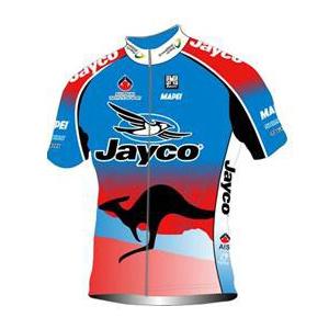 Team Jayco - AIS 2011 shirt