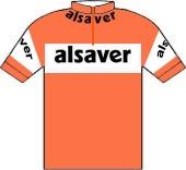 Alsaver - De Gribaldy 1975 shirt