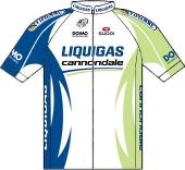 Liquigas - Cannondale 2011 shirt