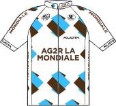 Ag2r La Mondiale 2011 shirt